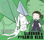 Pyramid Head conoce a SeruKun by SeruKun