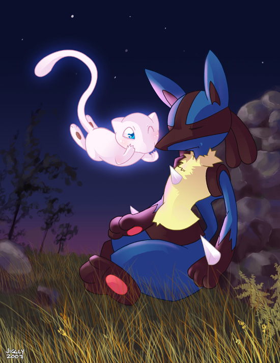 Mew and Lucario favourites by seastar03 on DeviantArt Mew And Lucario