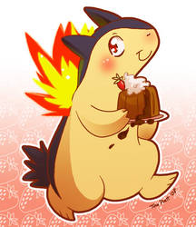 Pokemon: Typhlosion by jiggly