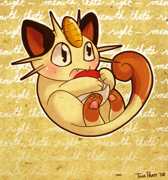 Trade: Meowth by jiggly