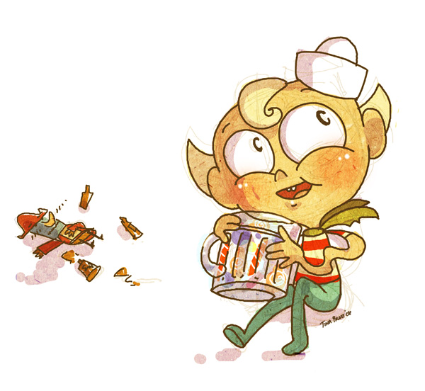Flapjack: Happy Hour by jiggly