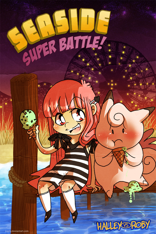 PCBC: Battle 2 - Cover by jiggly