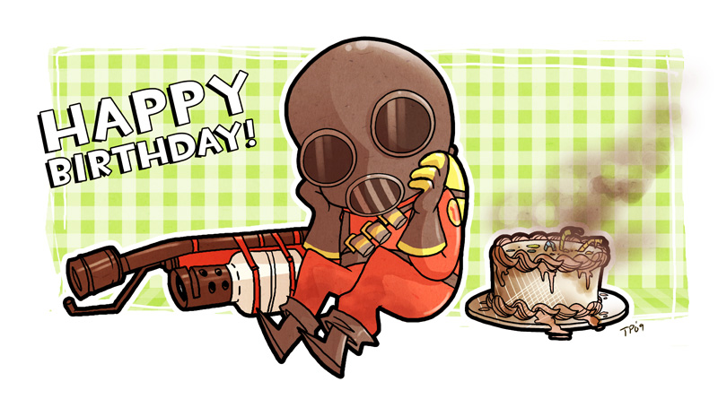Account Birthday My Birthday more by DatMudkip on DeviantArt – Tf2 Birthday Card
