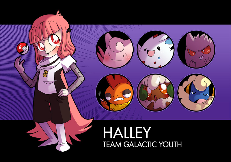 IPL: Halley and Team by jiggly