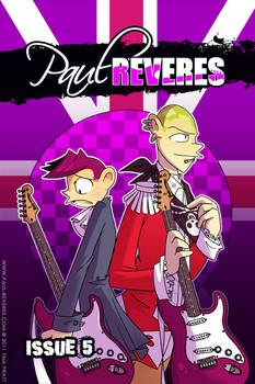 The Paul Reveres Issue 5 Cover