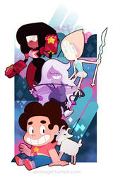 Steven Universe by jiggly