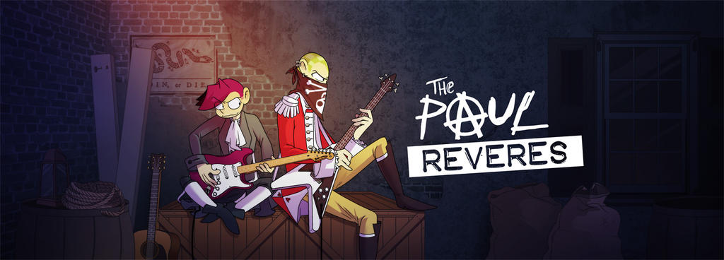 Paul Reveres Banner by jiggly