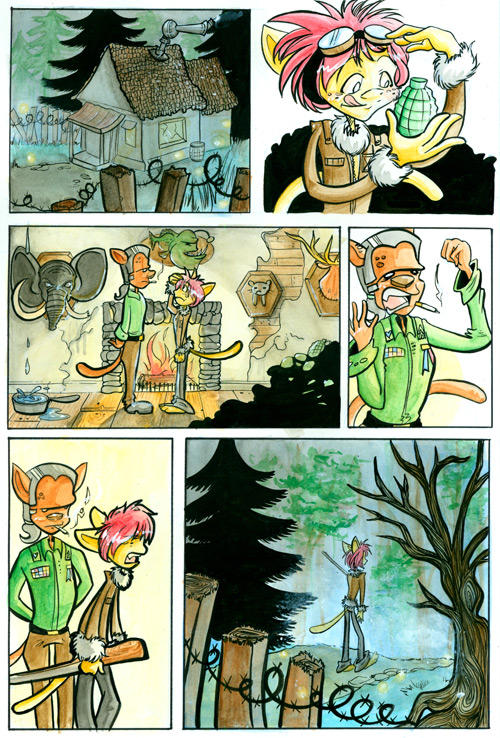 Jabberwocky: Page 1 by jiggly