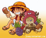 Luffy and Chopper