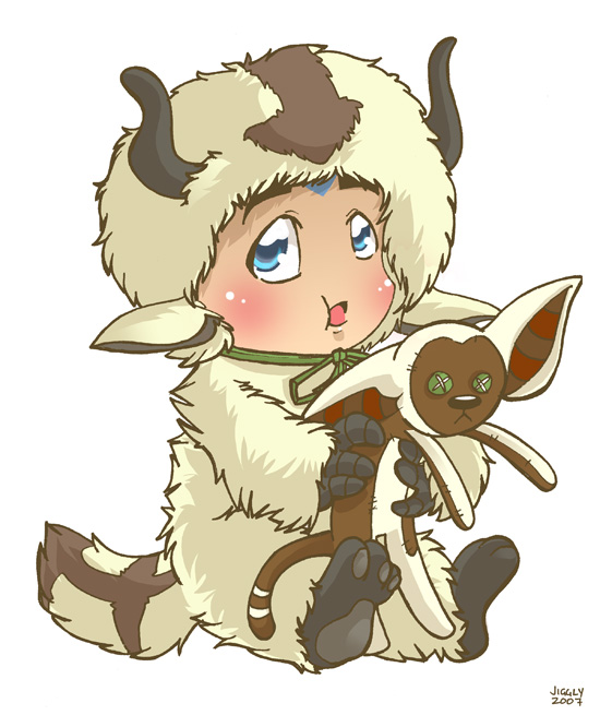 The Last Airbender Movie Appa: Aang As Appa By Jiggly On DeviantArt