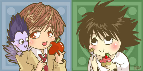 Death Note Snack Time