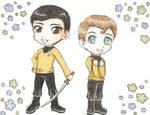 Chekov and Sulu