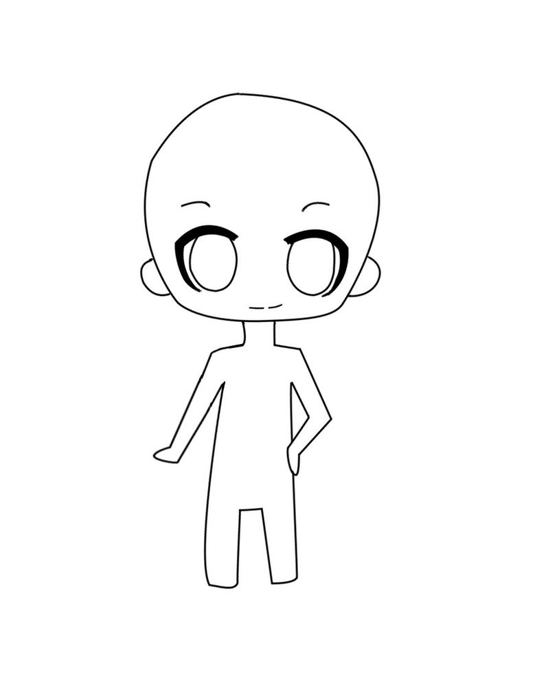 Chibi template by star0127 on deviantart chibi template by star0127 maxwellsz