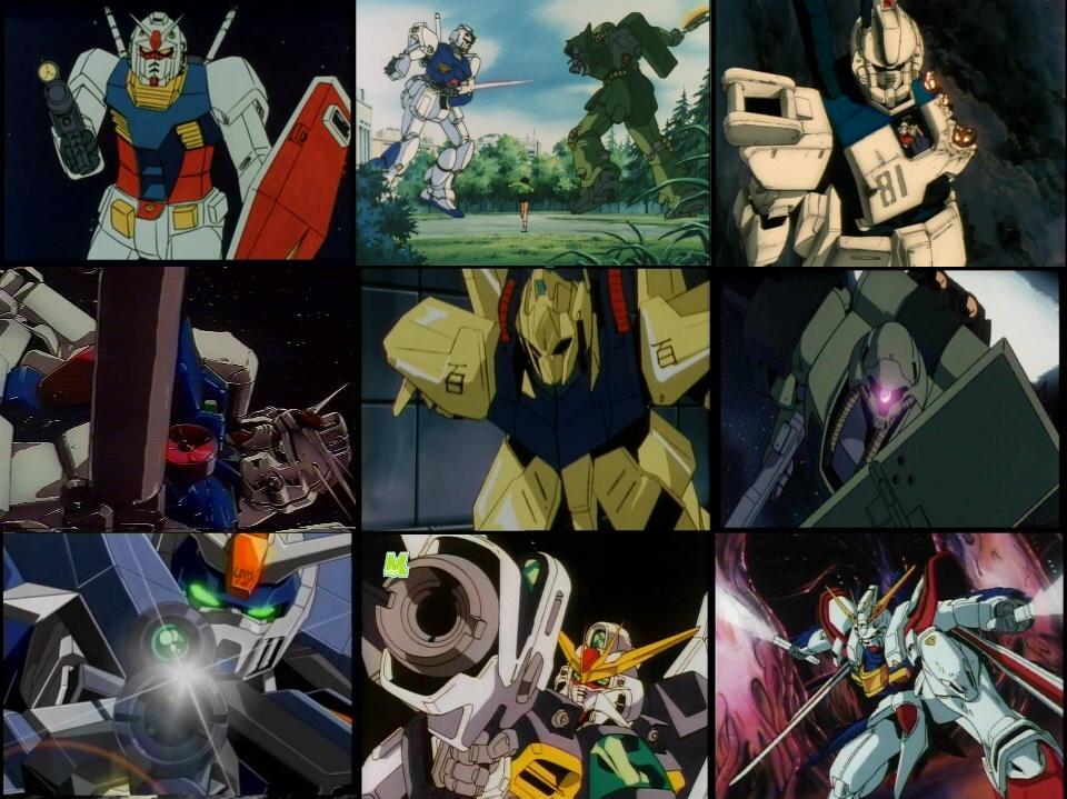 Gundams by Zakuno2