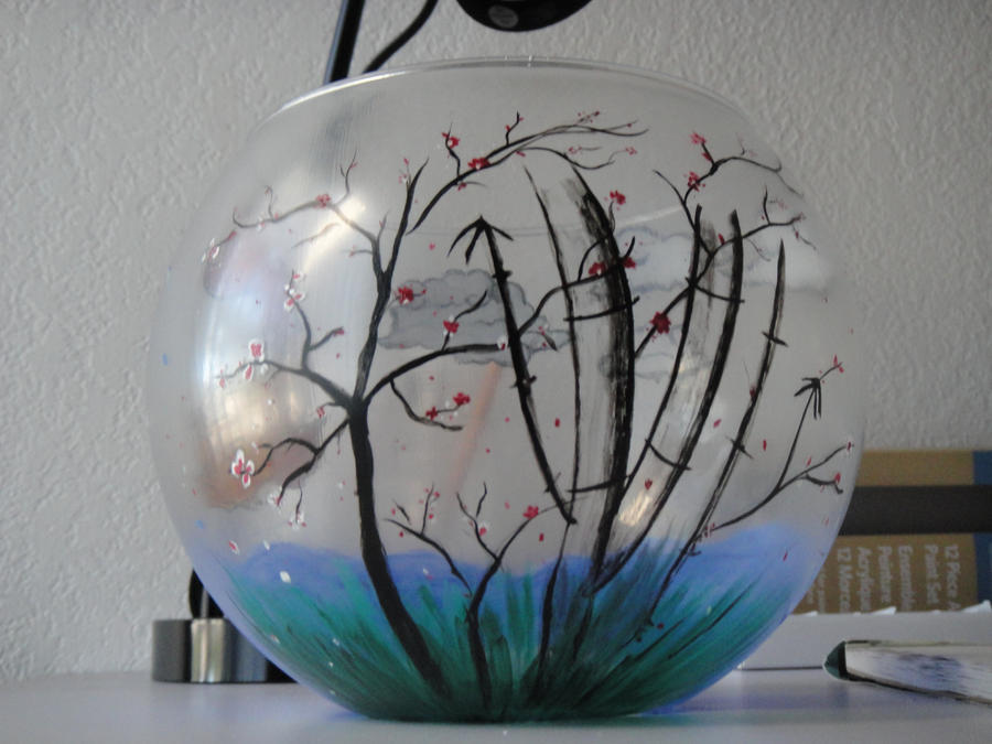 Koi Fish Bowl Bonsai By Msgamequeen On Deviantart & Fish Bowl Decoration Ideas - Elitflat