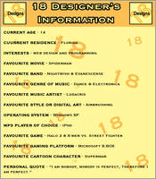 Devious Information by 18Designs