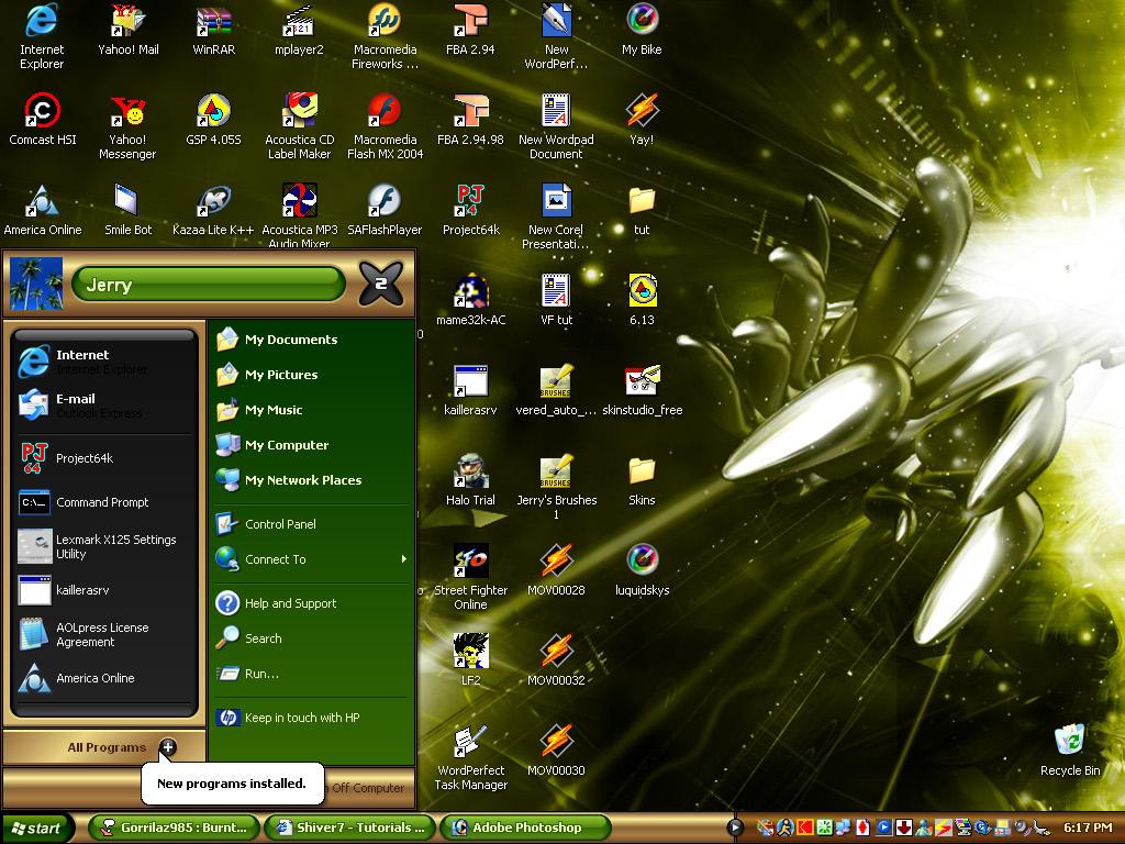 My Desktop by 18Designs