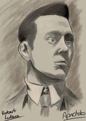 Bioshock - Portrait Of Robert Lutece by Apachoto