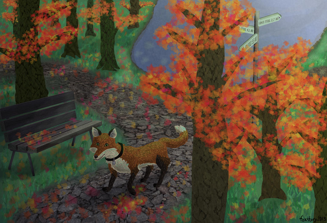 Autumn Trails by foxstory