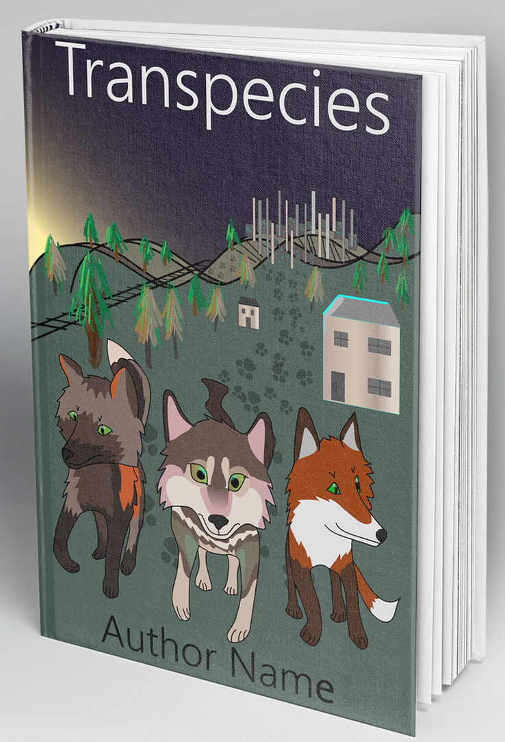 Experimental Mock Book Cover by foxstory
