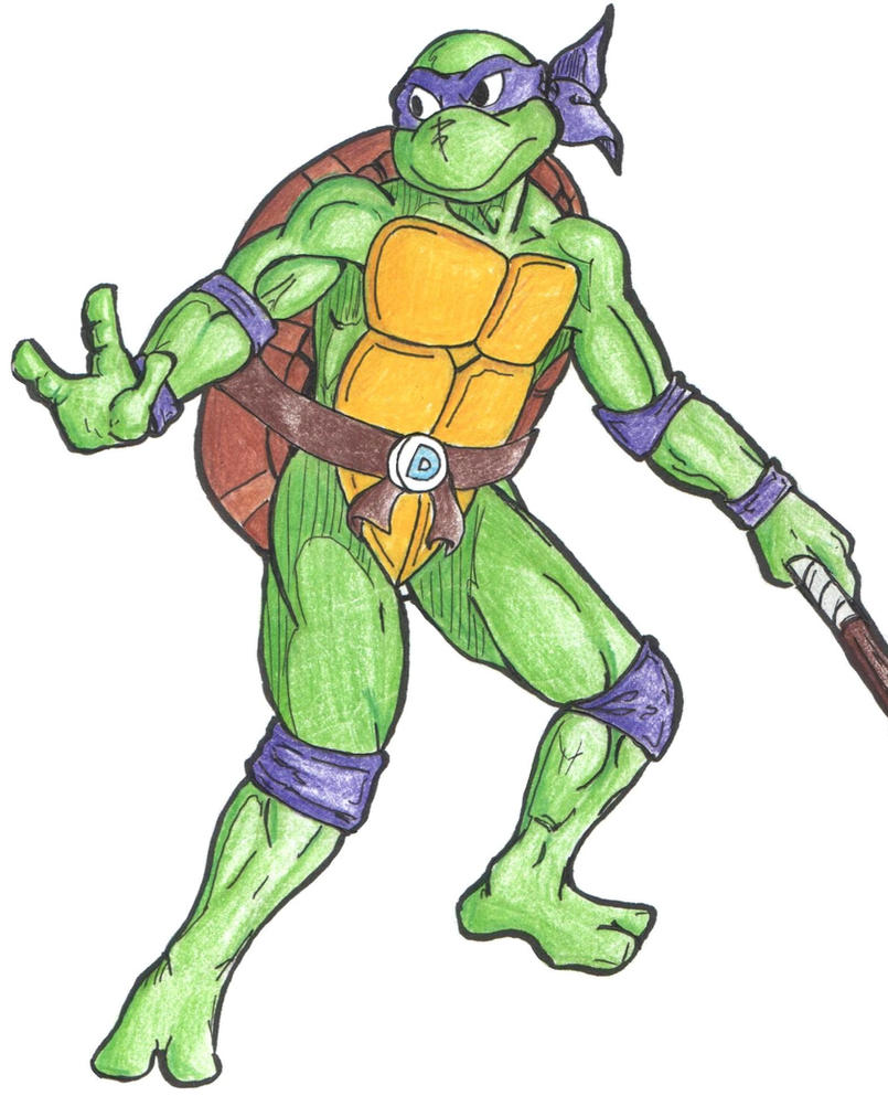 Donatello B2P50 by ped...
