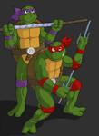 Donatello and Raphael SB80