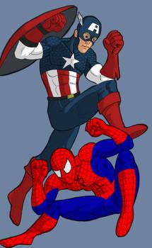 Cap and Spidey SB2P4