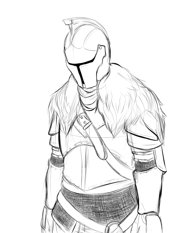 Faraam Knight Sketch By FullMetalPikmin On DeviantArt