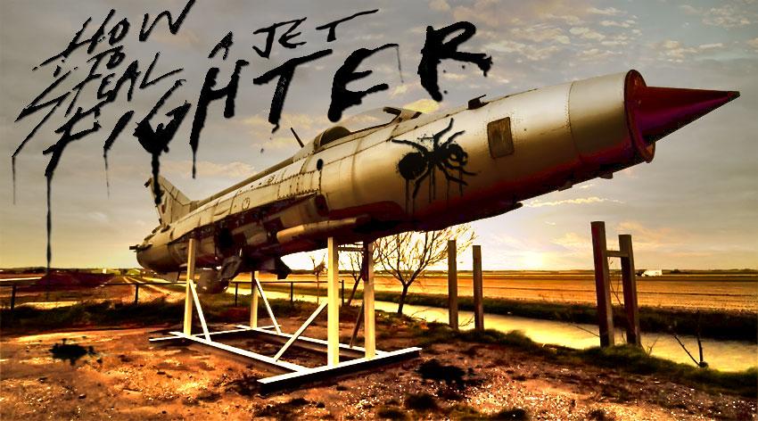 Koncepcyjna okładka albumu How To Steal A Jetfighter