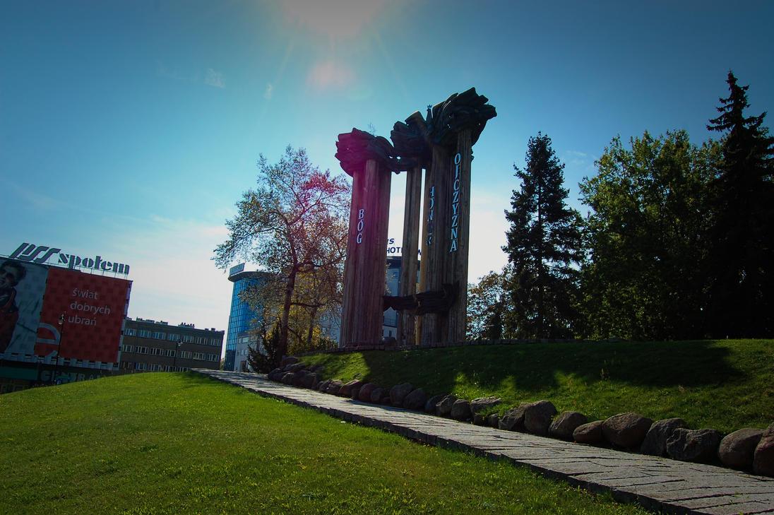 Pomnik Bohaterow Ziemi Bialostockiej by LongmanPL