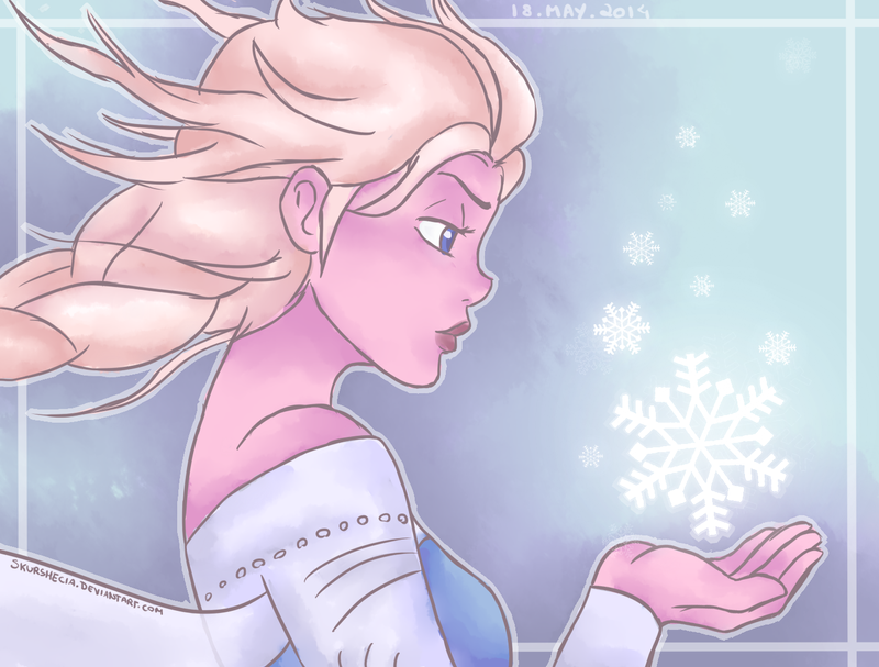 Elsa - Frozen by skurshecia
