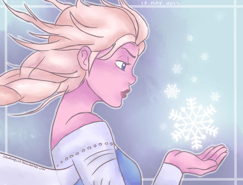 Elsa - Frozen by skurshecia