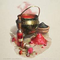 Ritual Preparations by OlgaDrebas