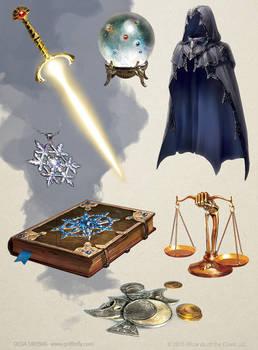 Magic Items by OlgaDrebas