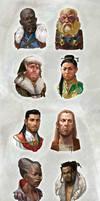 NPC Character portraits