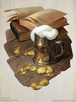 Tales from the Yawning portal title page illo