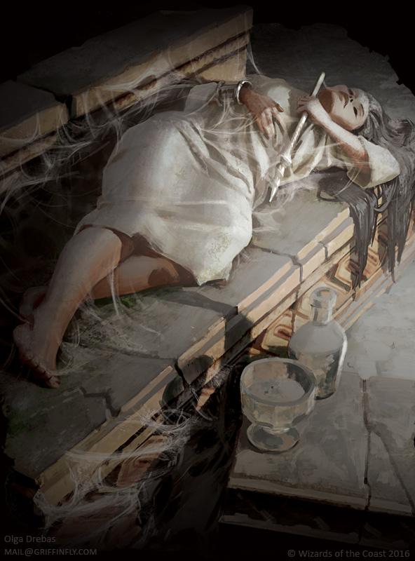 Slumbering Monk by OlgaDrebas