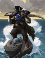 Duergar Pirate by OlgaDrebas