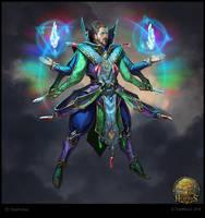 Mage of Crystals by OlgaDrebas