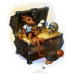 Peanut and Barry by OlgaDrebas