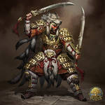 Beastmaster Warrior by OlgaDrebas