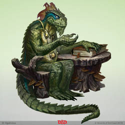 Lizardfolk Minister - Ghosts of Saltmarsh