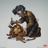 Rock Gnome mechanic by OlgaDrebas