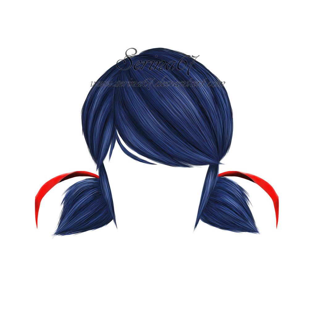 Как сделать причёску как у маринет из леди баг9