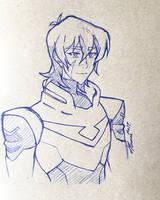 Practice Sketch - Keith by Serina67