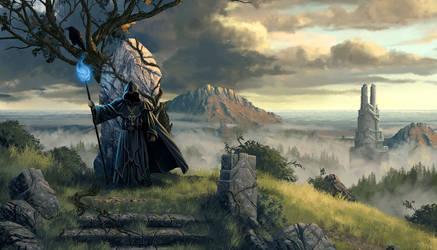 Legend of Grimrock 2 key art horizontal crop