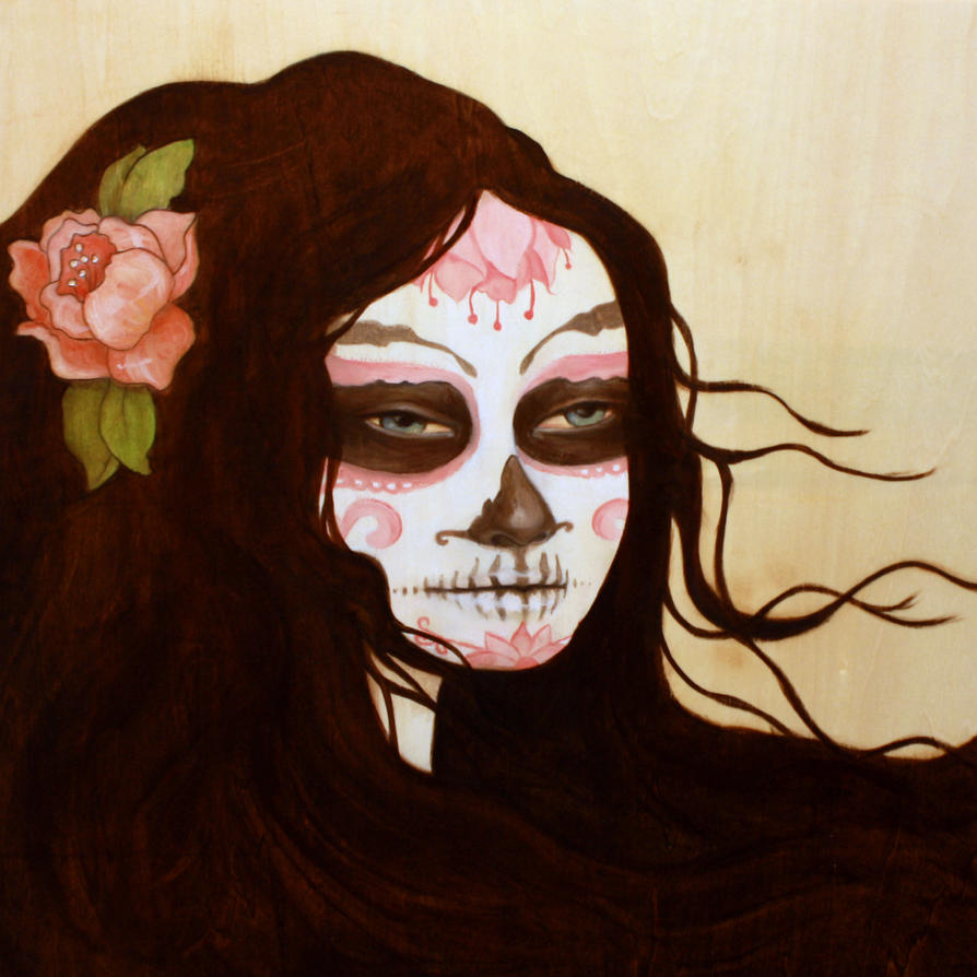 sugar skull by grumpygills