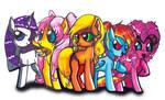 Spice Ponies by Aurora-Chiaro