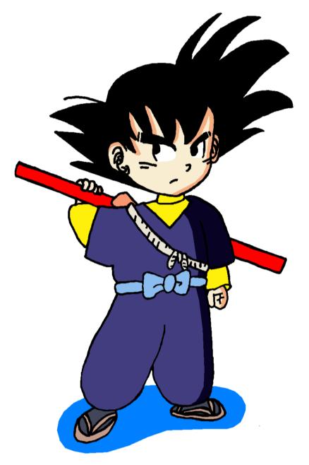Goku (Shu's outfit) by RisanF