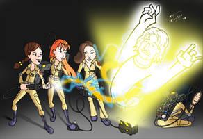 Fashion Club Ghostbusters by NeckStander